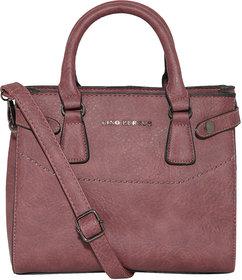 Lino Perros White Hand Bag  LWHB01879PURPLE
