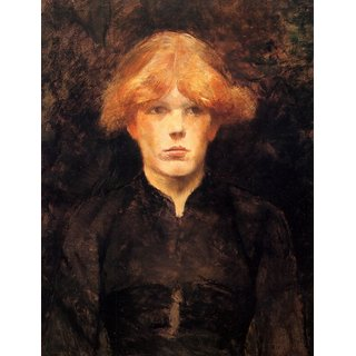 The Museum Outlet - Carmen by Toulouse-Lautrec - Poster Print Online Buy (24 X 32 Inch)