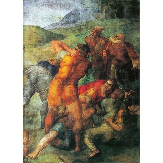 The Museum Outlet - Conversion of Paul detail by Michelangelo - Poster Print Online Buy (24 X 32 Inch)