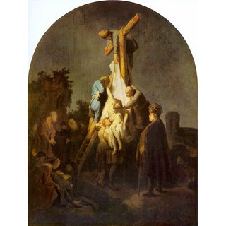 The Museum Outlet - Crucifixion by Rembrandt - Poster Print Online Buy (24 X 32 Inch)