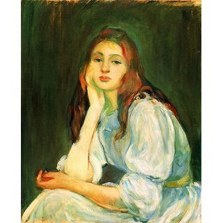 The Museum Outlet - Julie dreaming by Morisot - Poster Print Online Buy (24 X 32 Inch)