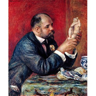 The Museum Outlet - Portrait of Vollard by Renoir - Poster Print Online Buy (24 X 32 Inch)