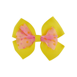 Stol'n Kids Yellow Bow Hair Clip 2674551