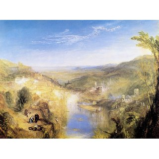 The Museum Outlet - Modern Italy  by Joseph Mallord Turner - Poster Print Online Buy (24 X 32 Inch)
