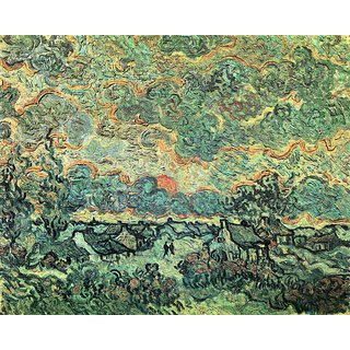 The Museum Outlet - Remembering the north by Van Gogh - Poster Print Online Buy (24 X 32 Inch)