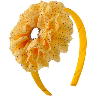 Stol'n Kids Floral Design Hair Band-Yellow  9206-13-02