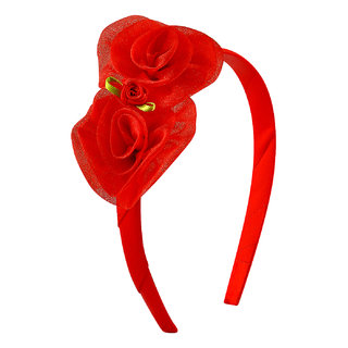 Stol'n Kids Rosette Red  Hair Band 9206-15-01