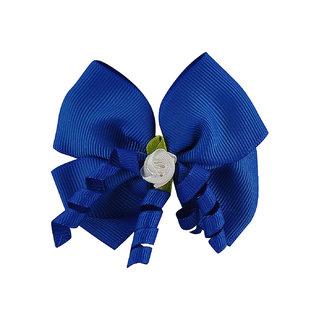Stol'n Kids Blue Bow Hair Clip 9222-6-4-03