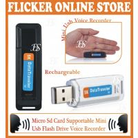 32 GB CARD SUPPORTABLE 2 IN 1 SMALLEST SIZE USB FLASH DISK WITH DIGITAL VOICE RECORDER IN THE WORLDWIDE ( Imported )