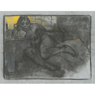 The Museum Outlet - Absinth (Study of a Woman) Google Art Project - Poster Print Online Buy (24 X 32 Inch)