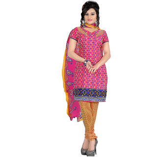 Manvaa Women's  Salwar Suit Dress Material With Dupatta