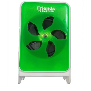 Other CHL Portable Stereo Speaker with USB  TF Card Portable Mobile/Computer 7 FM Radio  - Green