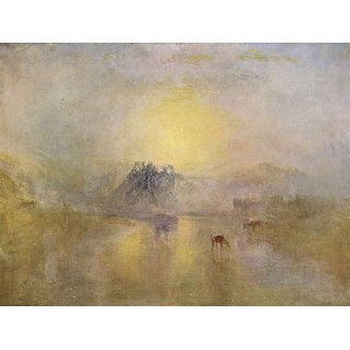 The Museum Outlet - Norham Castle by Joseph Mallord Turner - Poster Print Online Buy (24 X 32 Inch)