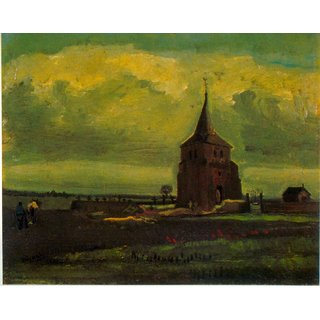 The Museum Outlet - Old Tower - Poster Print Online Buy (24 X 32 Inch)