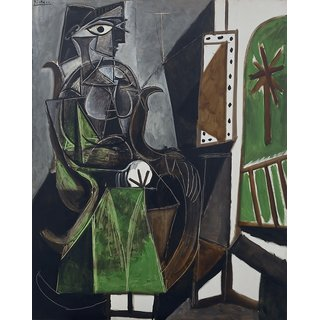 The Museum Outlet - Pablo Picasso - Woman by a Window - Poster Print Online Buy (30 X 40 Inch)