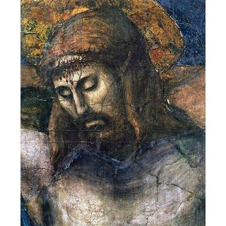 The Museum Outlet - The Trinity Detail 2 by Masaccio - Poster Print Online Buy (24 X 32 Inch)
