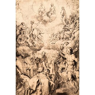 The Museum Outlet - All Souls' Day by Rubens - Poster Print Online Buy (24 X 32 Inch)