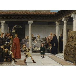 The Museum Outlet - Alma-Tadema - Education of the children - Poster Print Online Buy (24 X 32 Inch)