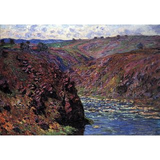 The Museum Outlet - Les-Eaux Semblantes in the sunlight by Monet - Poster Print Online Buy (24 X 32 Inch)