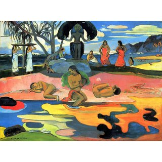 The Museum Outlet - Mohana no Atua by Gauguin - Poster Print Online Buy (24 X 32 Inch)
