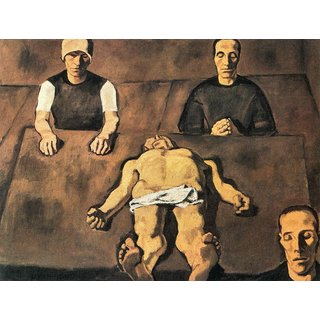 The Museum Outlet - Piety by Albin Egger-Lienz - Poster Print Online Buy (24 X 32 Inch)