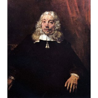 The Museum Outlet - Portrait of a blonde manby Rembrandt - Poster Print Online Buy (24 X 32 Inch)