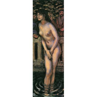 The Museum Outlet - Susanna in the bath 2 by Franz von Stuck - Poster Print Online Buy (24 X 32 Inch)