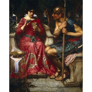 The Museum Outlet - Waterhouse - Jason and Medea - Poster Print Online Buy (24 X 32 Inch)