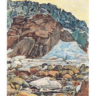 The Museum Outlet - Der Grindelwaldgletscher, 1912 1 - Poster Print Online Buy (24 X 32 Inch)