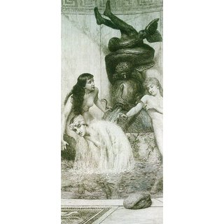 The Museum Outlet - Strigilis and sponges 2 by Alma-Tadema - Poster Print Online Buy (24 X 32 Inch)