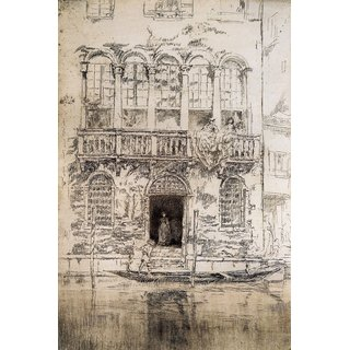 The Museum Outlet - The Balcony by Whistler - Poster Print Online Buy (24 X 32 Inch)