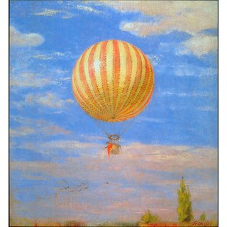 The Museum Outlet - The Baloon by Merse - Poster Print Online Buy (24 X 32 Inch)