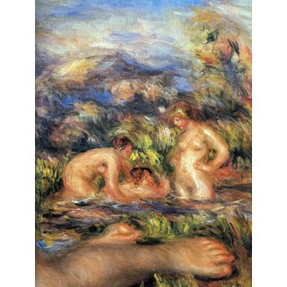 The Museum Outlet - The bathers (Detail) by Renoir - Poster Print Online Buy (24 X 32 Inch)