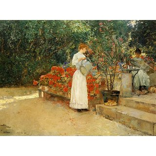 The Museum Outlet - After Breakfast, 1887 - Poster Print Online Buy (24 X 32 Inch)