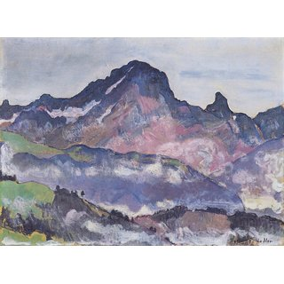 The Museum Outlet - Le Grand Muveran, 1912 - Poster Print Online Buy (24 X 32 Inch)