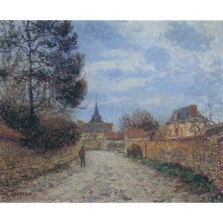 The Museum Outlet - Church of Notre Dame upon the Eure - Poster Print Online Buy (24 X 32 Inch)