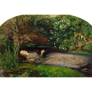 The Museum Outlet - Ophelia, 1852 - Poster Print Online Buy (24 X 32 Inch)