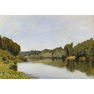 The Museum Outlet - The Seine at Bougival - Poster Print Online Buy (24 X 32 Inch)