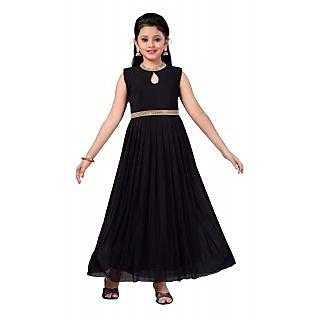 f037197cc23 Buy Aarika Girls Self Design Net Fabric Party Wear Ball Gown Online ...