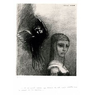 The Museum Outlet - A Flying Monster Threatens to Strike with a Wing an Oblivious Person with an Ornate Cap, 1888 - Poster Print Online Buy (30 X 40 Inch)