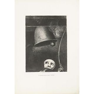 The Museum Outlet - A Mask Sounds the Funeral Knell, 1882 - Poster Print Online Buy (30 X 40 Inch)