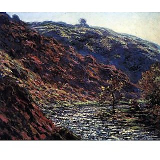 The Museum Outlet - Gorge of the Petite Creuse by Monet - Poster Print Online Buy (24 X 32 Inch)