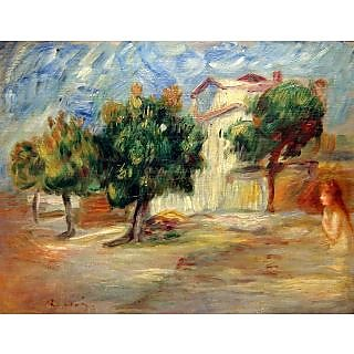 The Museum Outlet - Landscape with Nude, 1910 - Poster Print Online Buy (30 X 40 Inch)