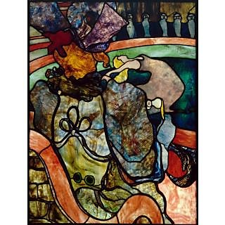 The Museum Outlet - Toulouse-Lautrec - Stained glass - Poster Print Online Buy (24 X 32 Inch)