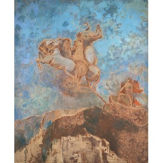 The Museum Outlet - Apollo's Chariot, 1909 - Poster Print Online Buy (30 X 40 Inch)