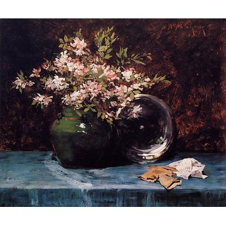 The Museum Outlet - Azaleas, 1882 - Poster Print Online Buy (30 X 40 Inch)