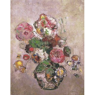 The Museum Outlet - Bouquet of Flowers, 1904 - Poster Print Online Buy (30 X 40 Inch)