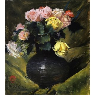 The Museum Outlet - Flowers (aka Roses), 1883 - Poster Print Online Buy (30 X 40 Inch)