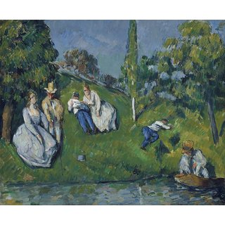 The Museum Outlet - The Pond, 1877-79 - Poster Print Online Buy (30 X 40 Inch)