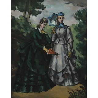 The Museum Outlet - The Promenade, 1871 - Poster Print Online Buy (30 X 40 Inch)